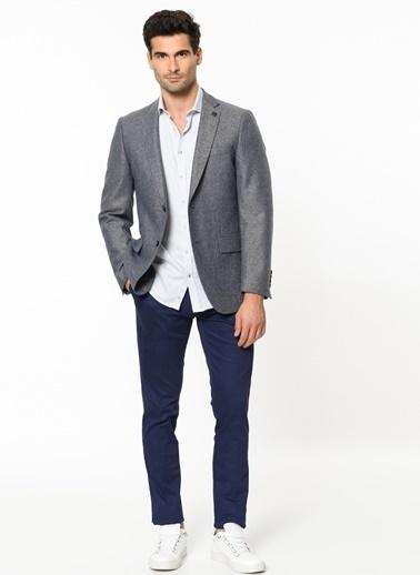 Beymen Business Yün Blazer Ceket Mavi